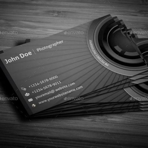 Biglietto da visita per fotografi 4