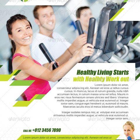 Volantino palestra fitness 2