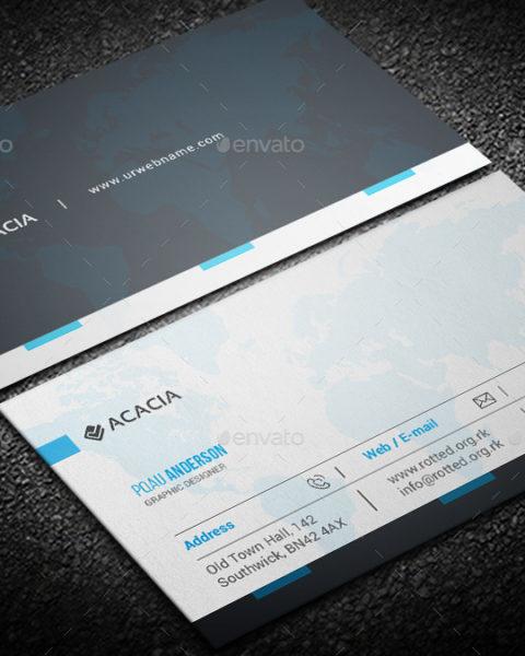 biglietto da visita internazionale 1
