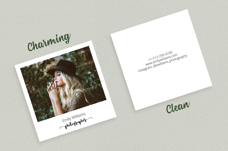 Biglietto-da-visita-quadrato-stile-polaroid-1