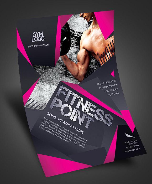 Volantino gym fitness palestra1