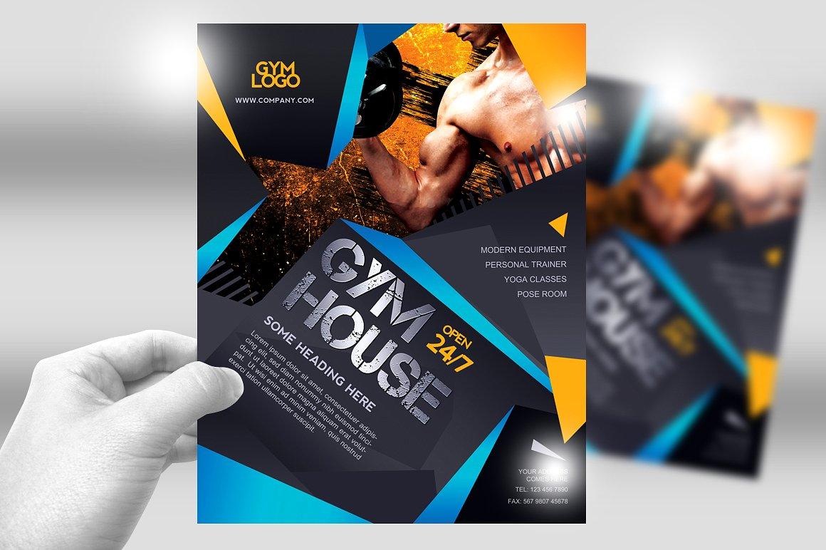 Volantino gym fitness palestra2