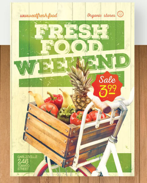 organic-food-poster-flyer-