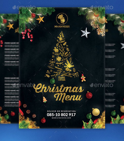 Menù natalizio per ristoranti