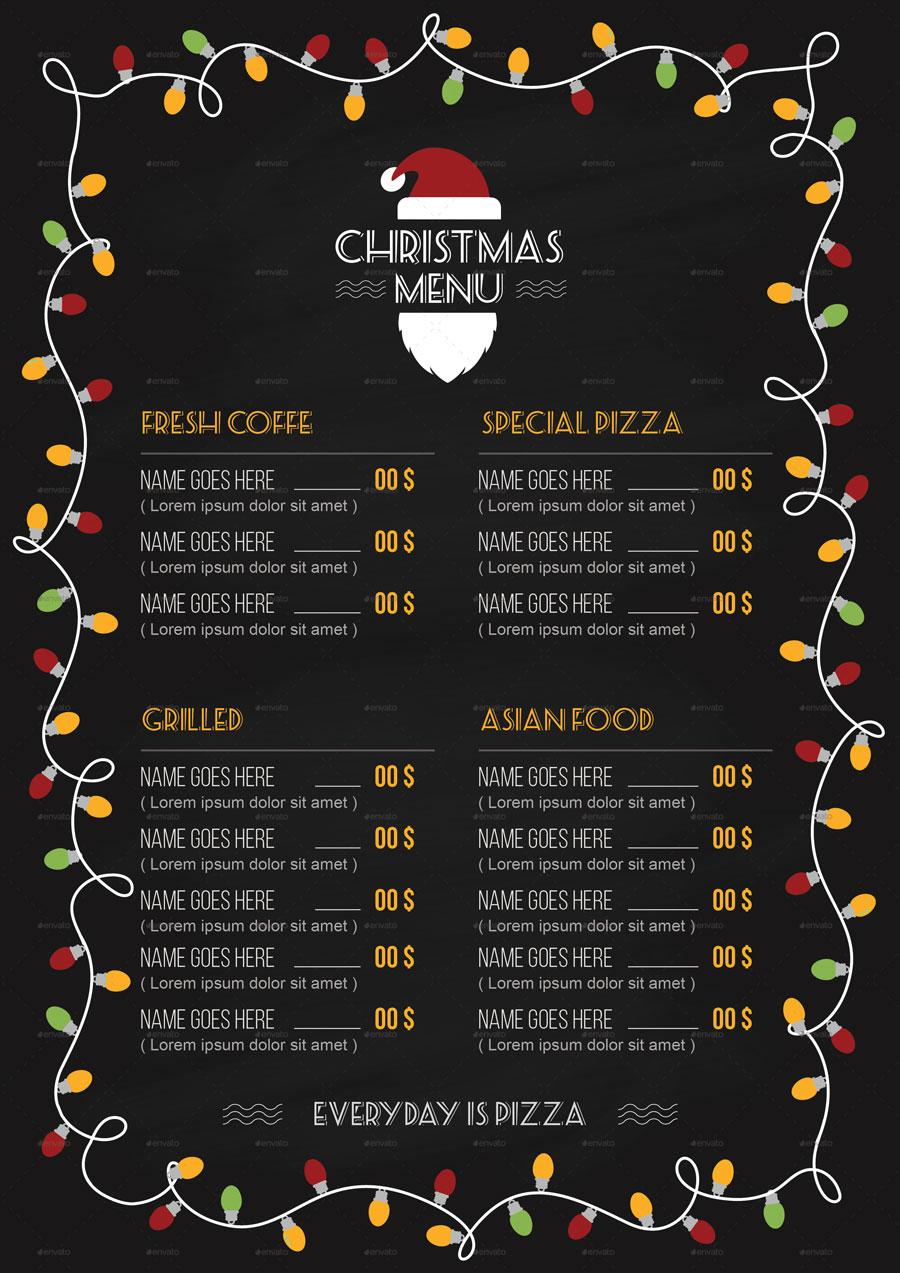 Menù per cenone di Natale
