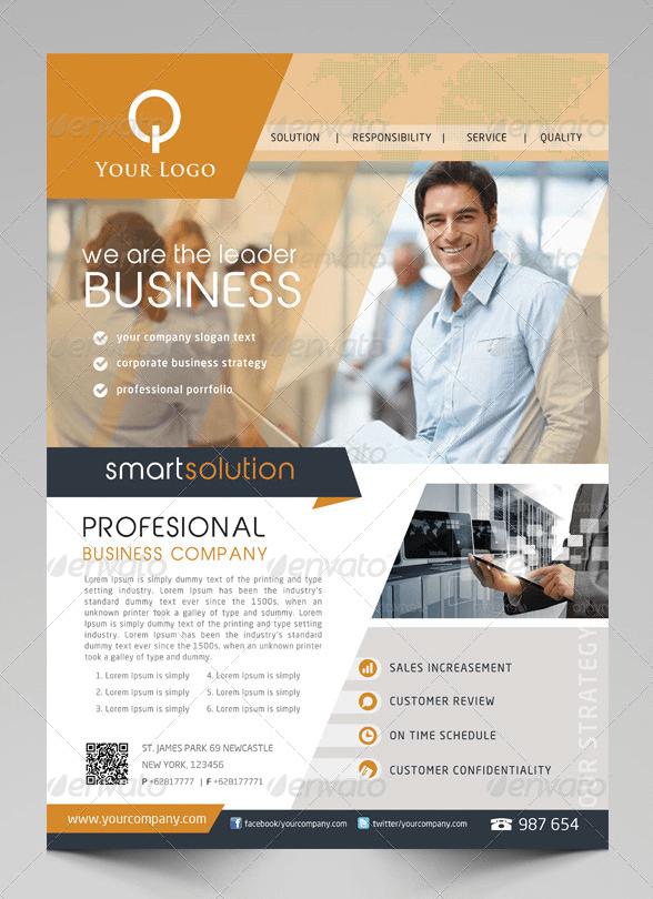 Flyer multiuso per business-2