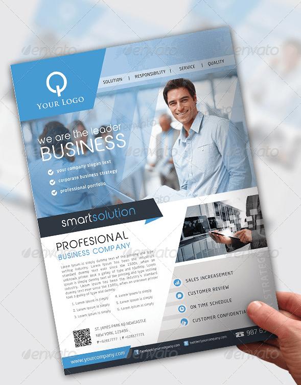 Flyer multiuso per business