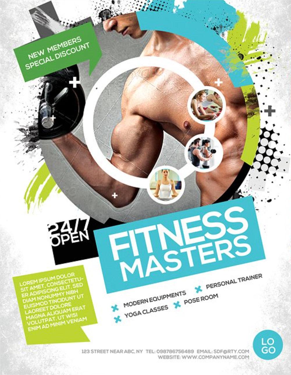 Flyer-per-palestre-e-corso-fitness-2