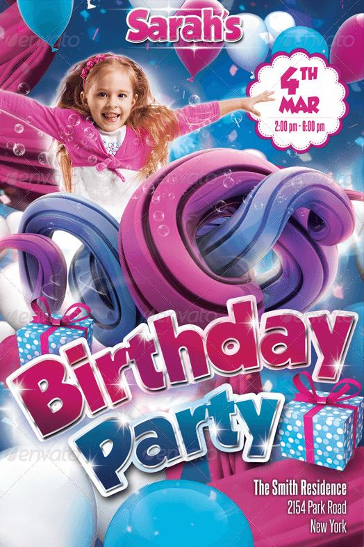 Volantino bimba party-1