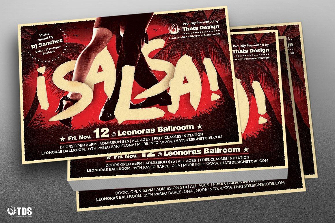 Volantino evento scuola di ballo salsa-3