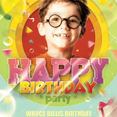 Volantino festa di compleanno bambini-1