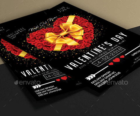 Flyer evento San Valentino