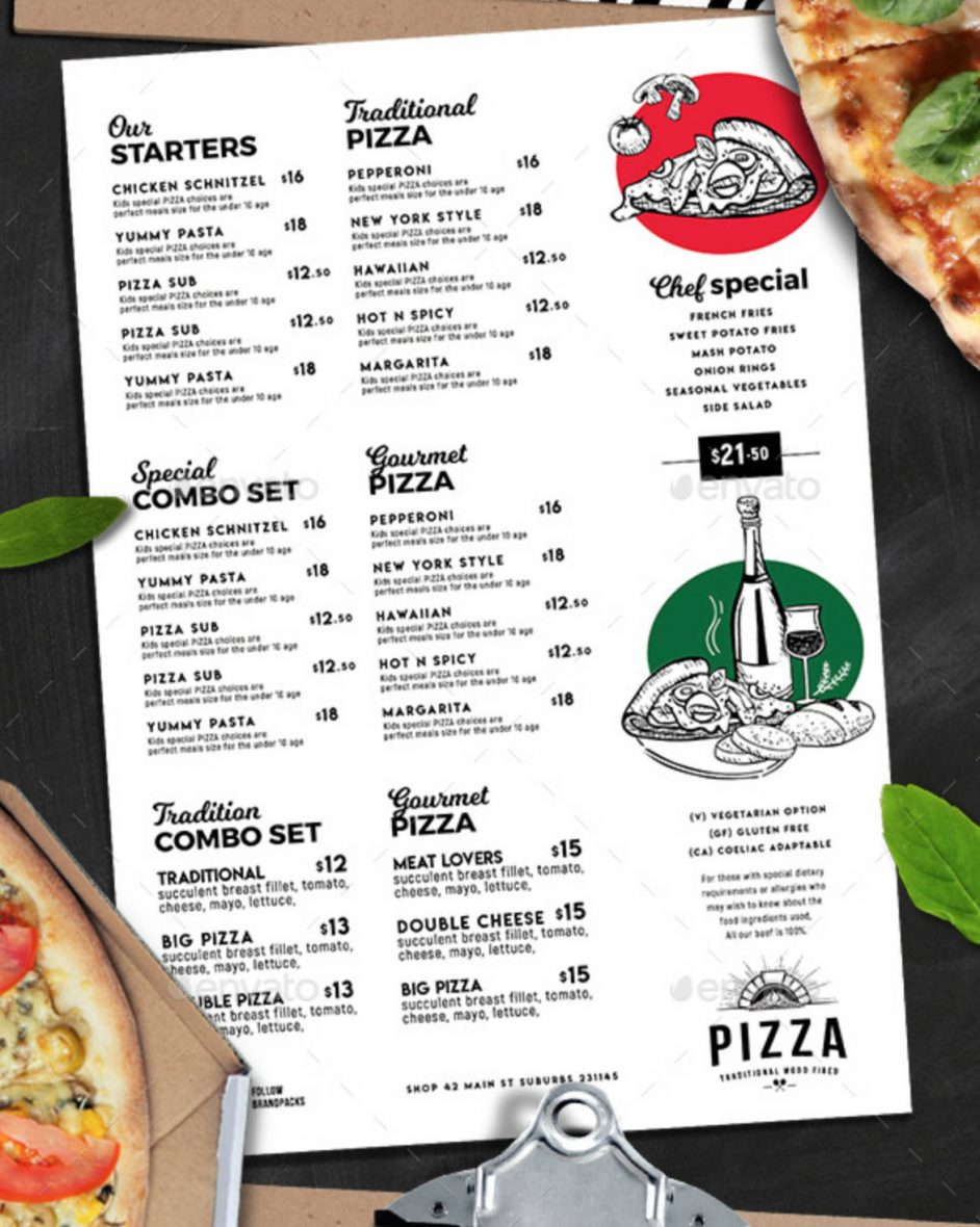 Menù per pizzeria-4