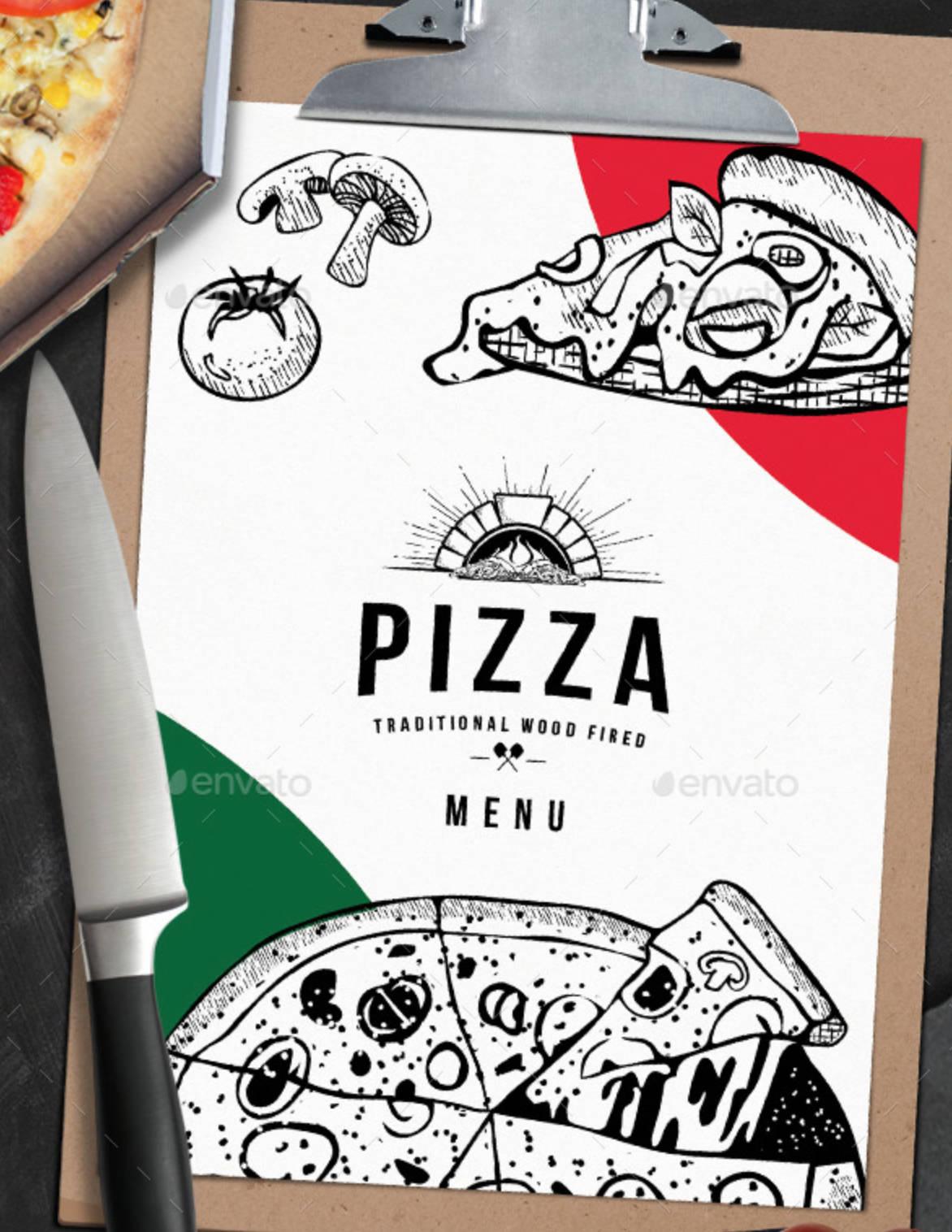 Menù per pizzeria-5