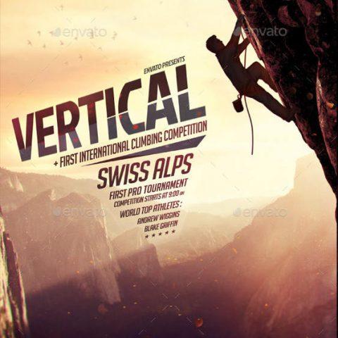 Volantino climbing arrampicata