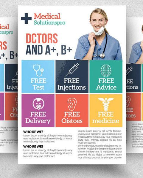 Volantino promozione studio medico