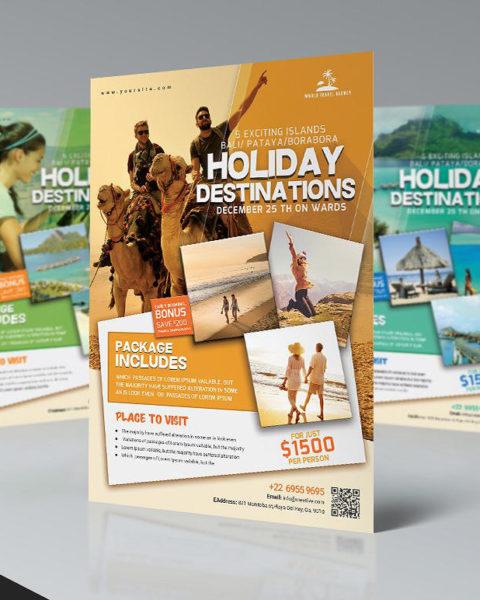Volantino promozione viaggio