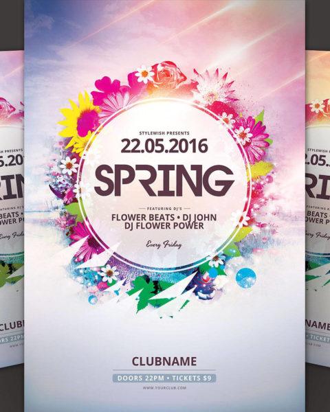 Festa di primavera motivo floreale 2