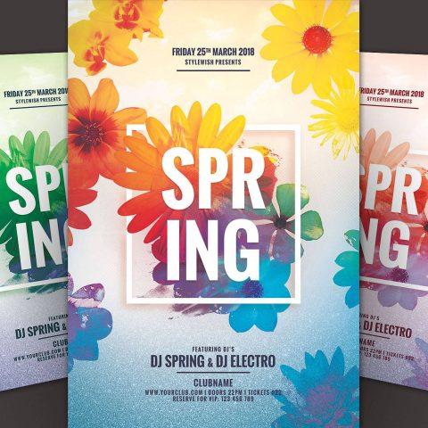 Poster per evento di primavera 2