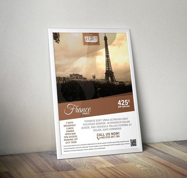 Poster promozione viaggio