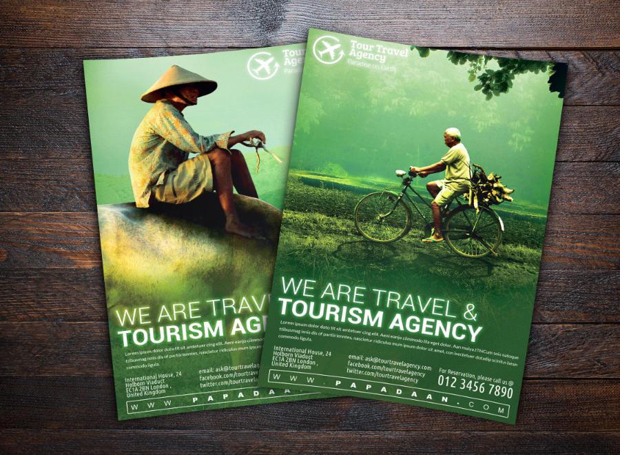 Volantino di promozione turistica 1