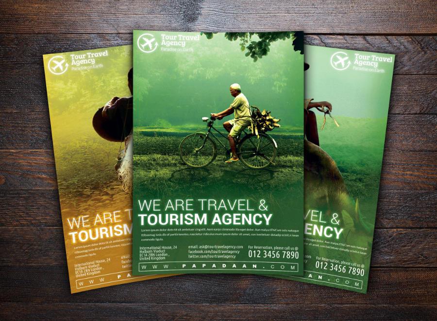 Volantino di promozione turistica 3