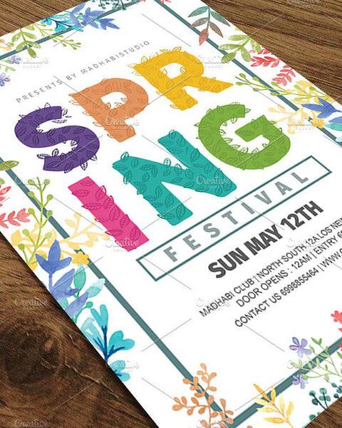Volantino per l'evento di primavera 2