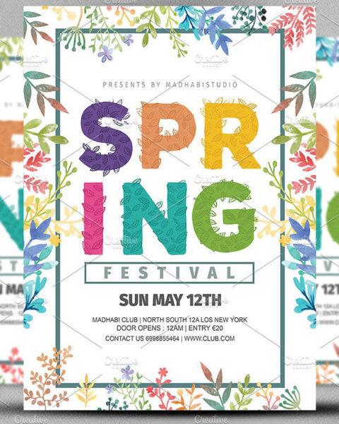 Volantino per l'evento di primavera