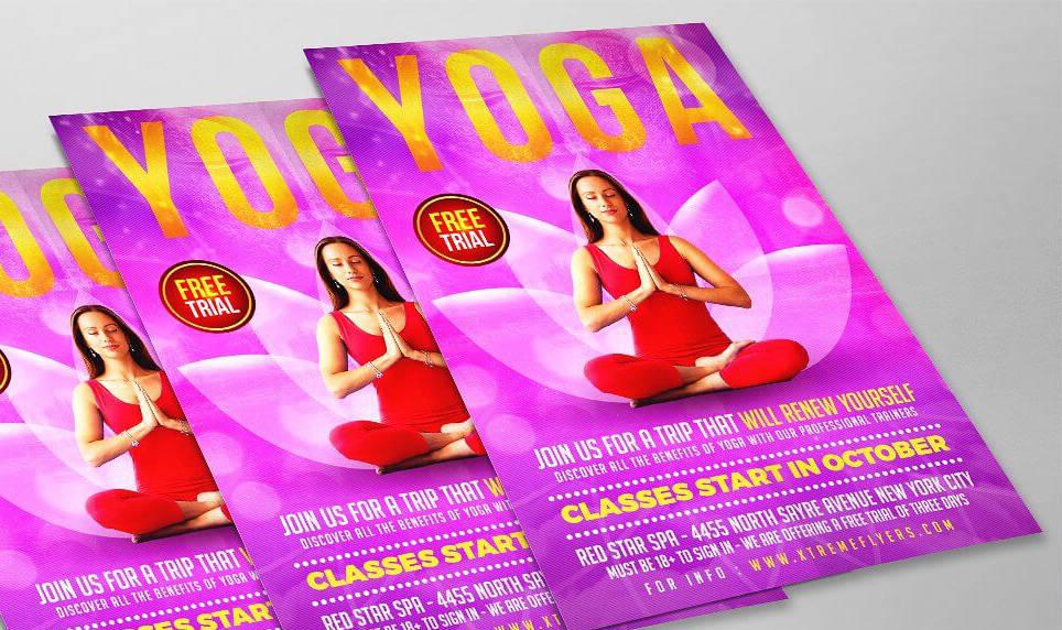 Volantino yoga meditazione 5 2