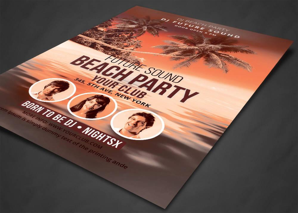 festa a mare flyer