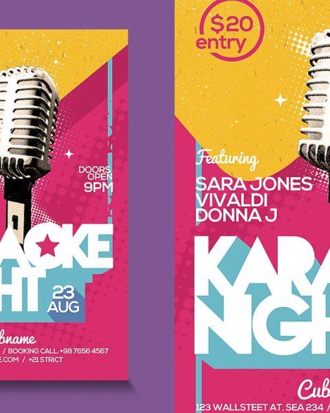 Volantino serata karaoke 2