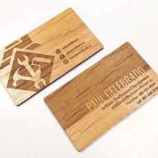 come fare un biglietto da visita in legno graficashop