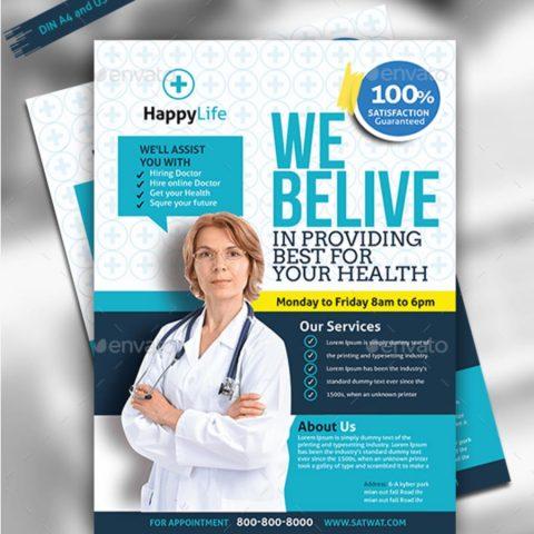 Volantino promozione settore medicale